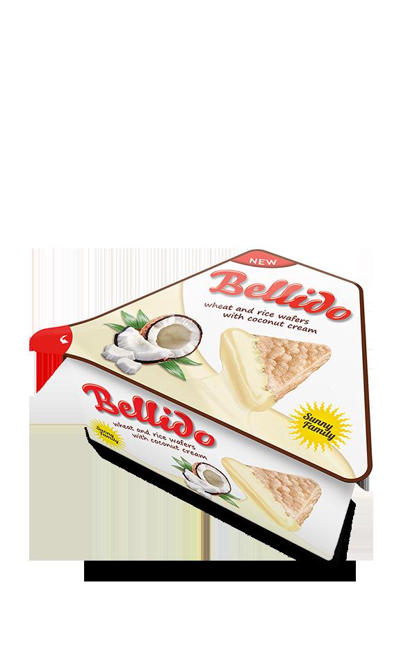 Bellido Coconut-flavoured cream